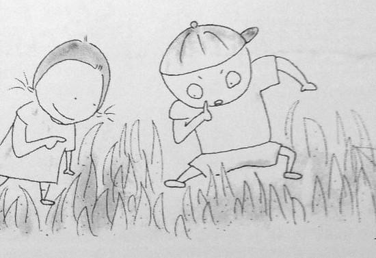 秋の虫を探そう